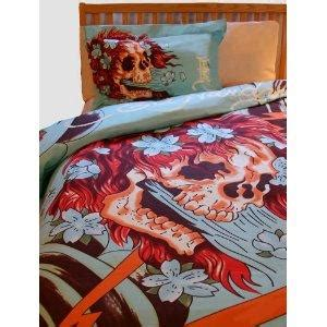 tattoo bedding skull bedding tattoing pictures to pin on pinterest