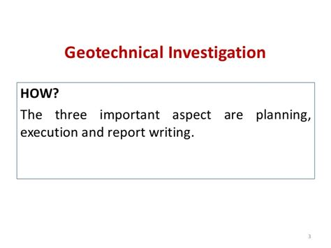 Geotechnical Report Writing by Site Inveswtigation Vandana Miss