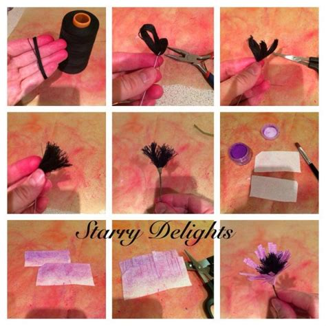 How To Make Edible Wafer Paper Flowers - wafer paper flower tutorial cakecentral