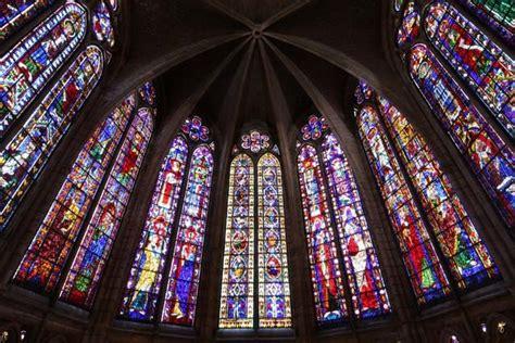 imagenes vidrieras goticas catedral de le 211 n catedrales de espa 241 a que merece la pena