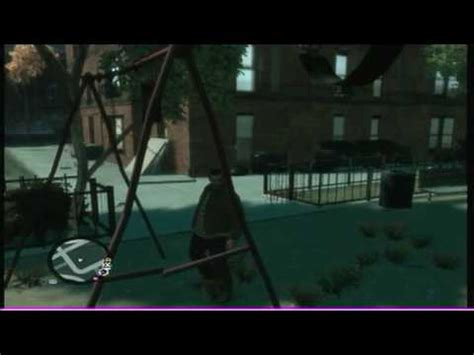 gta 4 glitch swing grand theft auto 4 swing set glitch tutorial