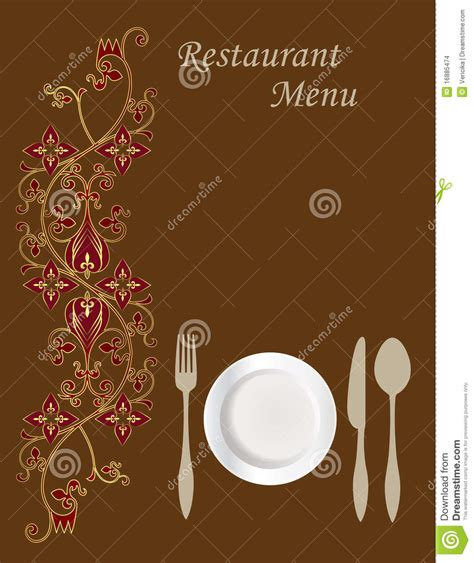 design menu card online menu card design stock images image 16885474