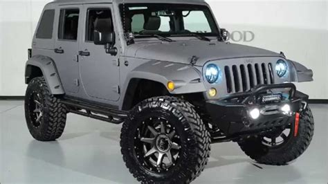 jeep wrangler grey 2015 2015 jeep wrangler unlimited kevlar coated fastback custom