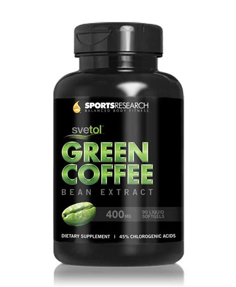 Green Coffee Extract genesis green coffee bean extract with svetol