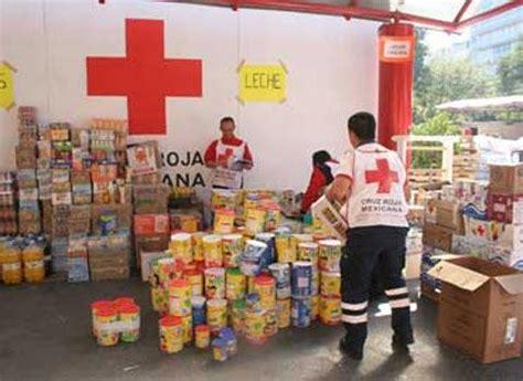 cruz roja desarrolla su plan de ayuda alimentaria el seis doble