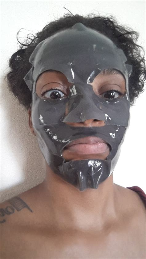 Masker Boscia mask monday boscia charcoal pore minimizing hydrogel mask
