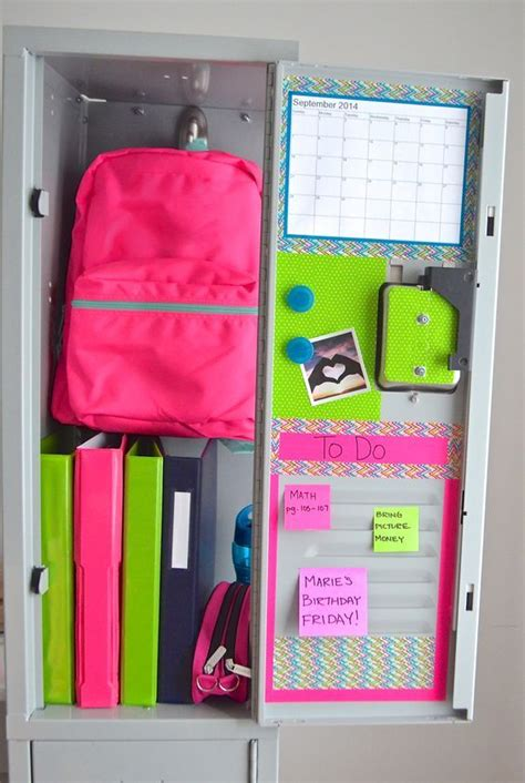 locker decorations diy 15 diy locker organization for school locker