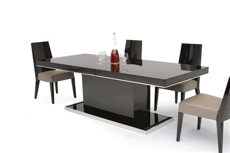 B131t Modern Noble Lacquer Dining Table Dining Table Modern