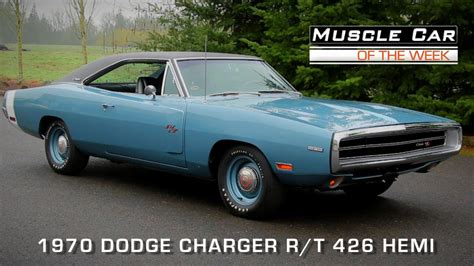 1970 dodge charger car car of the week episode 108 1970 dodge