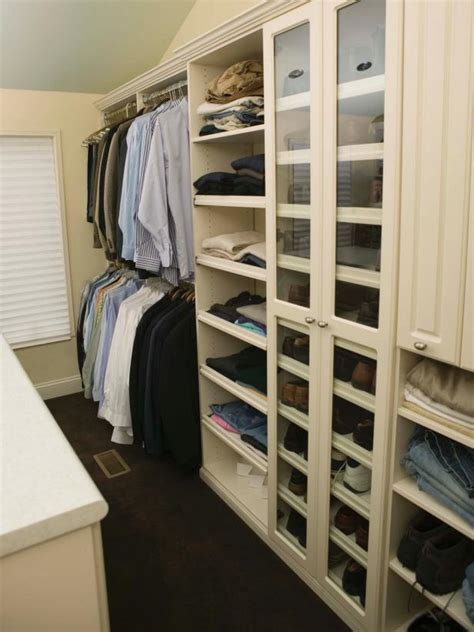 How To Make Walk In Closet by 10 Steps To A Decluttered Closet Hgtv