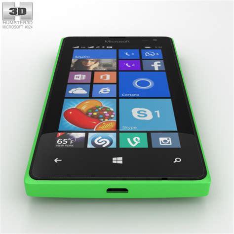 Microsoft Lumia 435 microsoft lumia 435 green 3d model hum3d