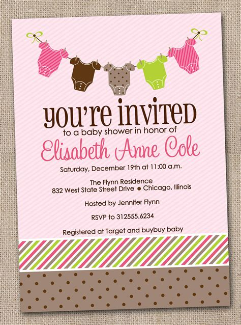 Baby Welcome Invitation Cards Templates by Design Sprinkle Baby Shower Invitations