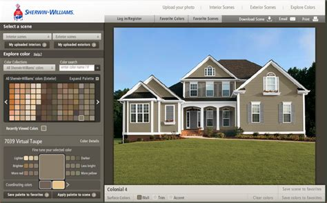 exterior house paint color simulator ktrdecor