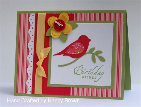 Easy And Beautiful Handmade Birthday Cards - julie s sting spot stin up project ideas by