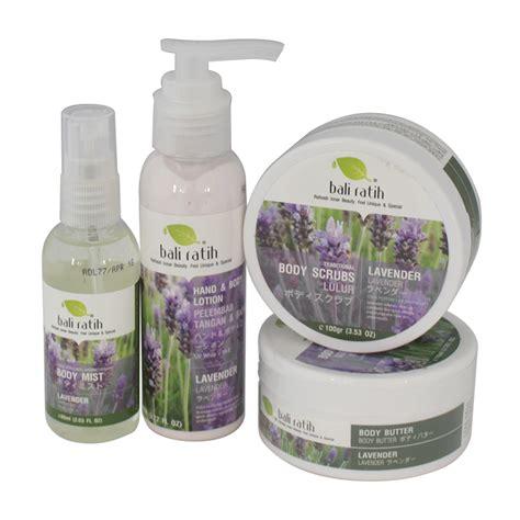 Paket 4in1 Bali Ratih Lotion Butter Scrub Mist Pouch bali ratih paket lavender gogobli