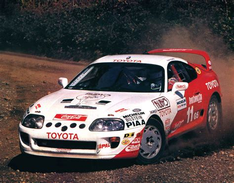 toyota rally car toyota supra turbo rally car a80