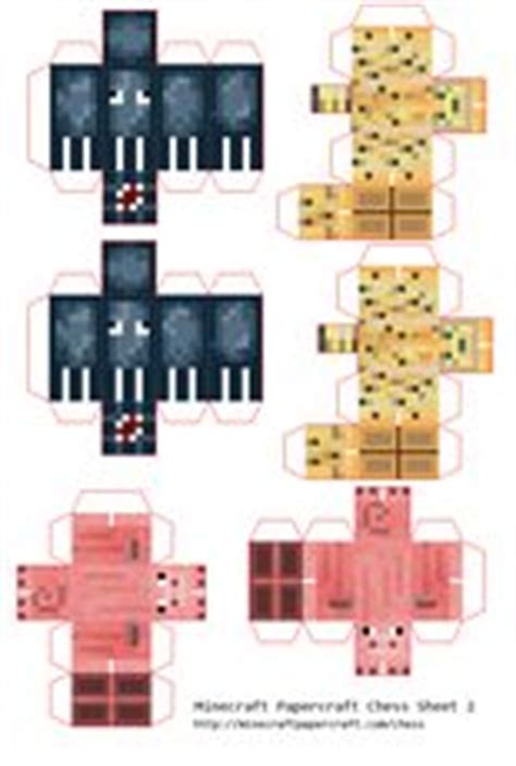 Minecraft Papercraft Chess - 1000 images about s favs on my