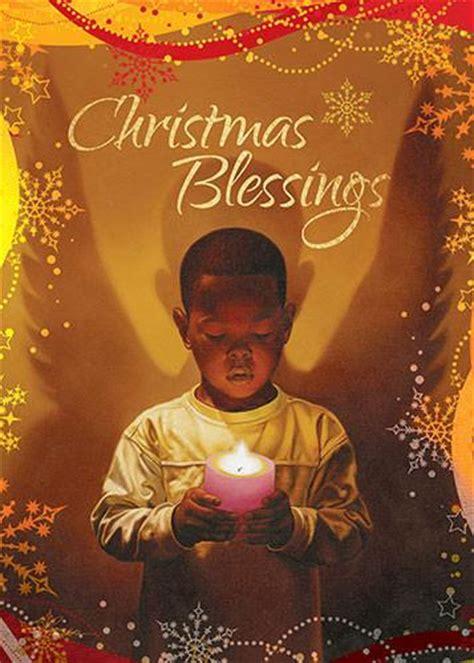 christmas blessings african american christmas card box set    black art depot