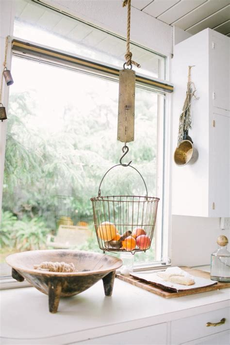 Our New Obsession ? Hanging Fruit Baskets