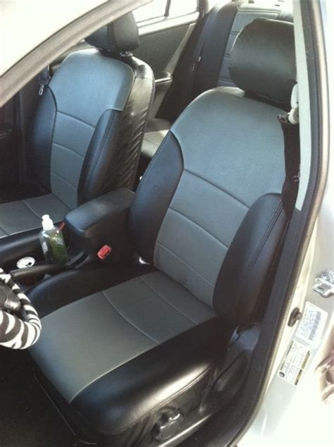 Seat Covers For Toyota Corolla Toyota Corolla 2004 Front Seats With Vinyl Seat Covers Yelp