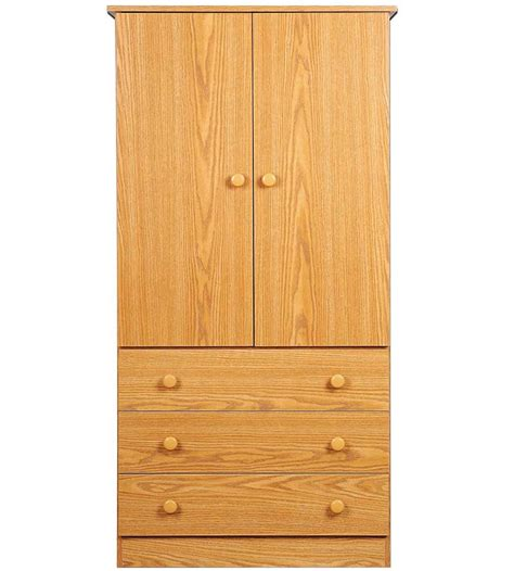 wooden wardrobe closet in dressers