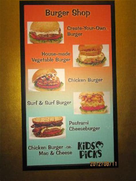 pop food court menu picture of disney's pop century