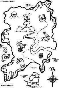 Coloriage Carte De Pirate &224 Imprimer Sur COLORIAGES Info sketch template