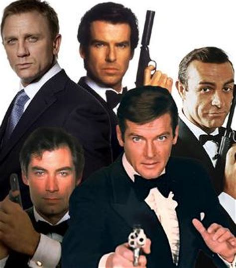 8 james bond 007 actors in 53 years youtube the many faces of james bond james bond google images