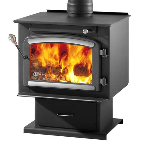 drolet classic high efficiency epa wood stove package