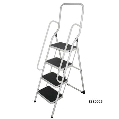 Two Step Step Stool With Handrail by Folding Step Stool With Handrail Ese Direct