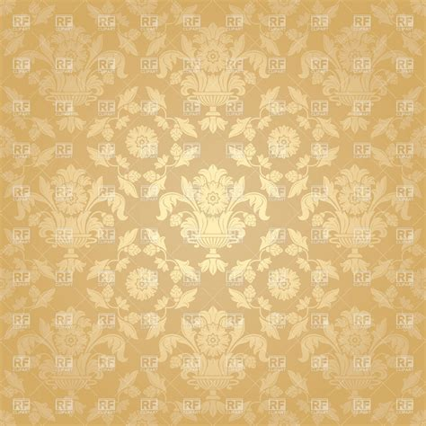 gold victorian wallpaper beige victorian wallpaper with floral pattern 18912