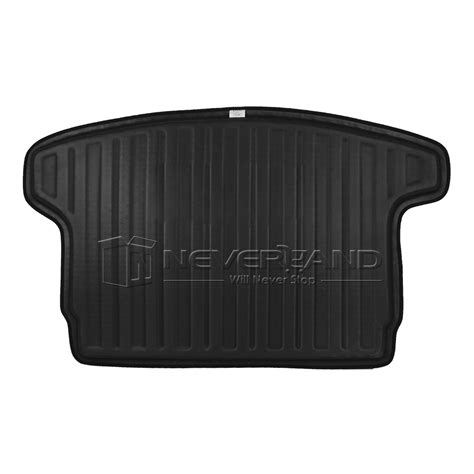 rubber boot liner for nissan qashqai rear trunk tray boot liner cargo mat floor protector for