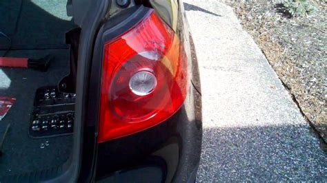 how to change a brake light how to replace a 2008 vw rabbit brake light doovi