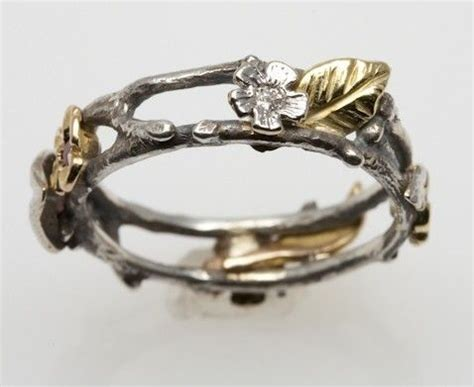 25  best ideas about 18k Gold on Pinterest   Silver and gold lyrics, Silver band wedding rings