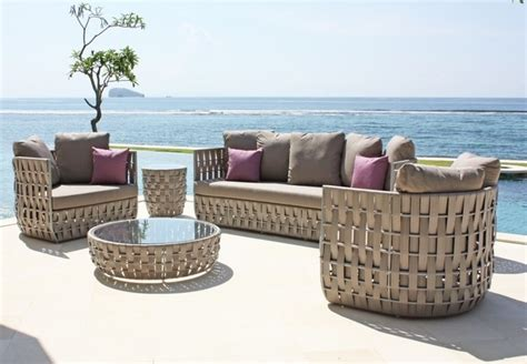 luxury outdoor patio furniture skyline design strips seating collection contemporary