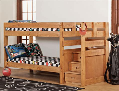 Bunk Bed with Stairs Ideas