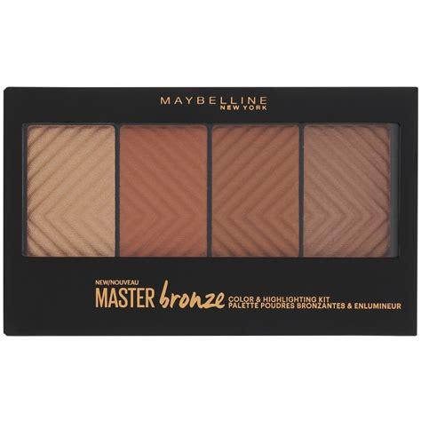 Maybelline Master Bronze maybelline master bronze highlighting palette 14 gr