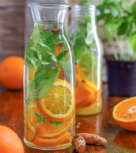 Are Oranges For Detox Water by Photo Detox Water Orange Et Basilic 3 Oranges 10