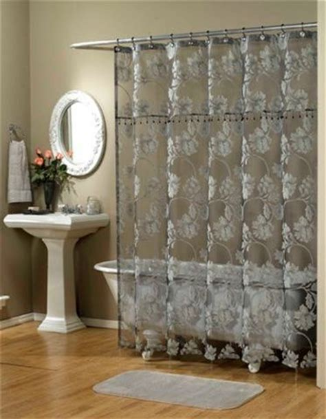 elegant shower curtains with valance french elegant shower curtains and flower on pinterest