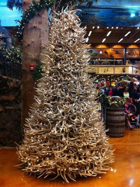 deer antler christmas tree christmas trees pinterest