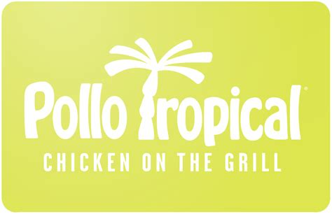buy pollo tropical gift cards discounts up to 35 cardcash - Pollo Tropical Gift Cards