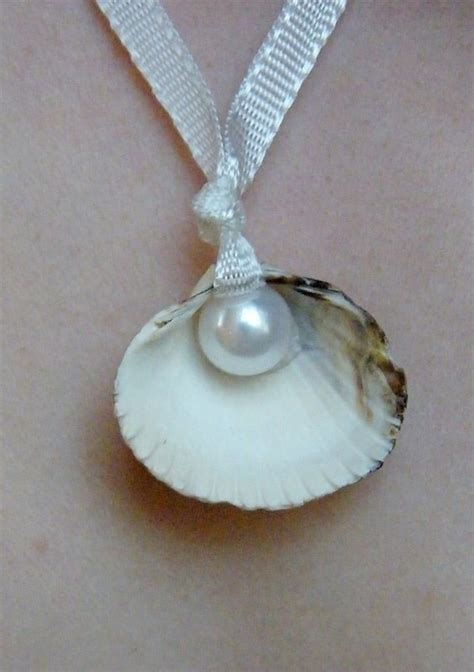 how to make jewelry with shells sea shell pearl necklace 183 how to make a shell necklace