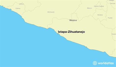 map of mexico showing ixtapa where is ixtapa zihuatanejo mexico ixtapa zihuatanejo