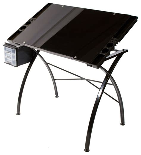Best Drafting Table Martin Dezign Line Drawing Table Glass Top Traditional Drafting Tables By Martin Universal