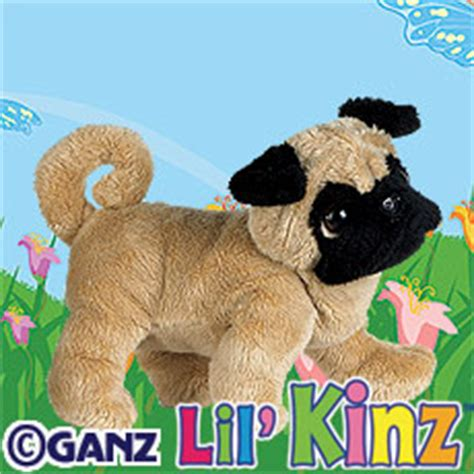 lil kinz pug hs105 lil kinz pug webkinz code only no plush delivered by email
