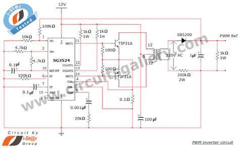 integrated circuit ic sg3524 pwm simple pwm inverter circuit diagram using pwm chip sg3524 circuits gallery