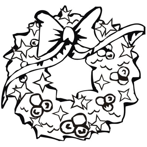 preschool wreath coloring page children wreath free coloring pages for christmas