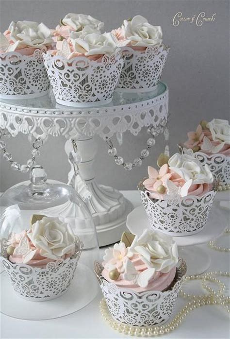 Special Yummy Wedding Cupcake Decorating ? Gorgeous Lace