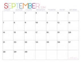 2014 calendar template free 9 best images of september 2014 calendar printable