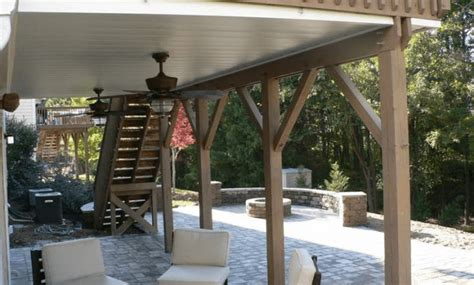 Outdoor Patio Ceiling Materials by Best Porch Ceiling Material Options